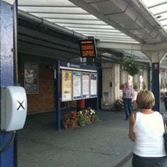 Photo taken at Harrogate Railway Station (HGT) by Fi K. on 10/3/2011