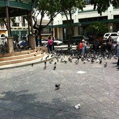 Photo taken at Plaza De Armas by Katherine T. on 8/27/2011
