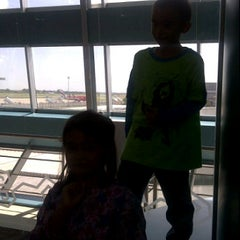 Photo taken at Boarding room AirAsia.com by Tuhu-Sih W. on 3/24/2012