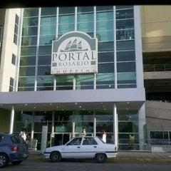 Photo taken at Portal Rosario Shopping by Lucas on 9/17/2011
