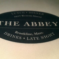 Photo taken at The Abbey by Crystal A. on 7/18/2012
