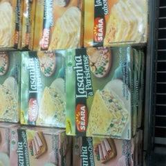 Photo taken at Supermercado Fortaleza Hiper by Bruno V. on 7/28/2012