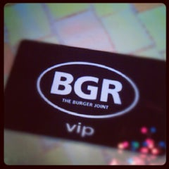 Photo taken at BGR - The Burger Joint by Jenny A. on 8/25/2012