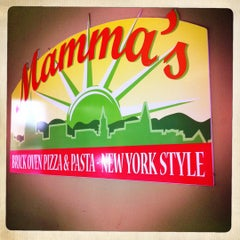 Photo taken at Mamma's Brick Oven Pizza by Ron L. on 9/16/2011