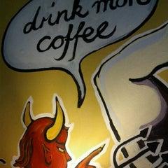 Photo taken at El Diablo Coffee by James B. on 4/3/2011