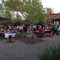 Photo taken at Arbor Brewing Company Microbrewery by Bob H. on 5/19/2012