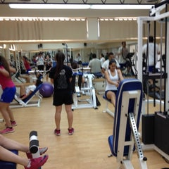 Photo taken at Gym Tec De Mty by Javier C. on 6/22/2012