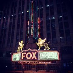 Photo taken at Fox Theatre by John E D. on 10/26/2011