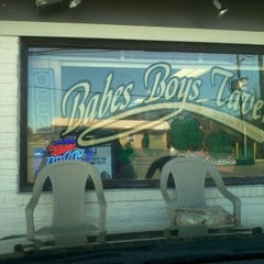 Photo taken at Babes Boys Tavern by Marisol C. on 11/25/2011