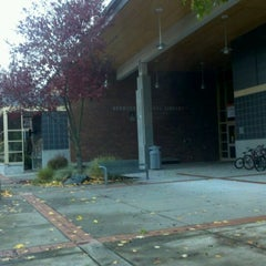Photo taken at KCLS Redmond Library by Crit V. on 11/17/2011