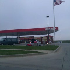Photo taken at Kum & Go by Greg R. on 11/23/2011