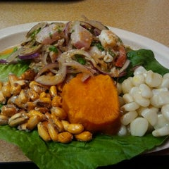 Photo taken at La Brasa Grill by Fork Notes on 8/31/2011