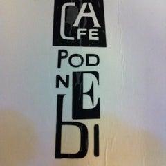 Photo taken at Café Podnebi by Rosh on 8/26/2011