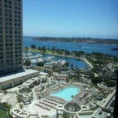 Photo taken at Manchester Grand Hyatt San Diego by Gina M. on 6/23/2012