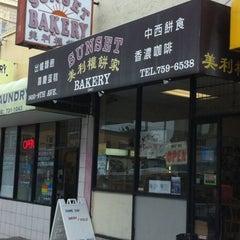 Photo taken at Sunset Bakery by Derek P. on 12/31/2010