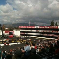 Photo taken at AAA Auto Club Raceway by Jason C. on 2/12/2012