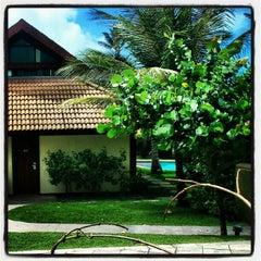 Photo taken at Marulhos Muro Alto Resort by Leonardo G. on 8/19/2012