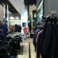 Photo taken at BOSS Store by Oleg K. on 9/1/2012