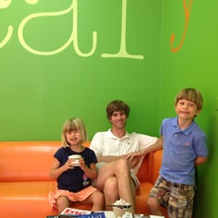 Photo taken at Local Yogurt by hopie a. on 6/17/2012