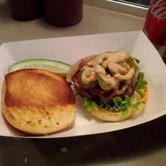 Photo taken at Mikey's Burger by Tony C. on 1/13/2012