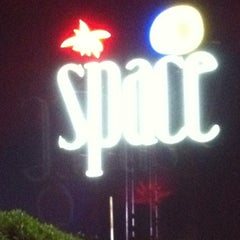 Photo taken at Space Beach Club by Antonio F. on 9/29/2011