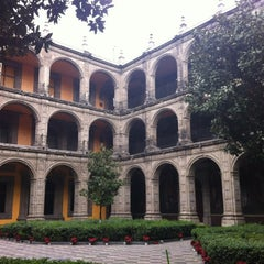 Photo taken at Antiguo Colegio de San Ildefonso by Gerardo V. on 1/29/2012