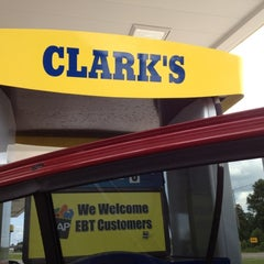 Photo taken at Clark's by Teresa on 8/5/2012