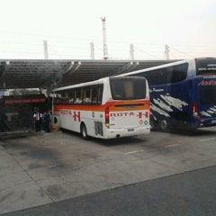 Photo taken at Terminal de Buses O'Higgins by Ignacio P. on 7/14/2012