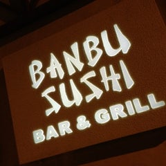 Photo taken at Banbu Sushi Bar & Grill by SaM F. on 6/28/2012