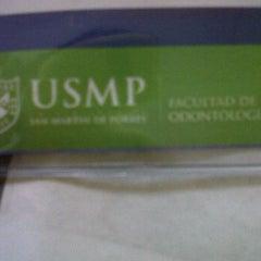 Photo taken at Facultad de Odontología - USMP by Diana B. on 9/8/2011