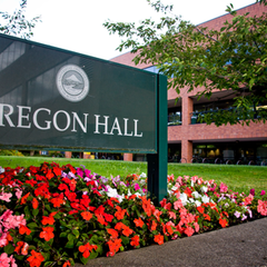 Photo taken at Oregon Hall by Oregon Duck on 7/27/2011