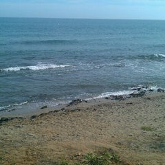Photo taken at Playa Luna Beach by @PetteLov w. on 9/1/2012