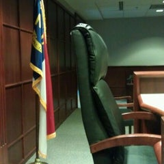 Photo taken at Wake County Courthouse by Billy Y. on 12/1/2011