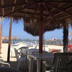 Photo taken at Villa Rosa - Bar Beach & Restaurant by Ilaria B. on 7/3/2012