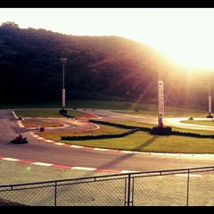 Photo taken at Kartódromo Internacional Aldeia da Serra by Karina C. on 5/19/2012