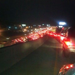 Photo taken at Spaghetti Junction (Tom Moreland Interchange) by Jedd M. on 1/30/2012
