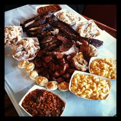 Photo taken at Lockhart Smokehouse by Jill C. on 10/18/2011