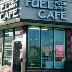 Photo taken at Fuel Your Body Cafe by Colleen C. on 5/31/2012
