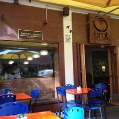 Photo taken at Brot Bakery & Cafe by Lucho S. on 4/6/2012