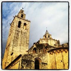 Photo taken at Monestir de Sant Cugat by Marc G. on 8/30/2012