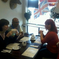 Photo taken at Café Shirley by Mick P. on 7/1/2012
