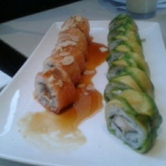 Photo taken at Fukai Sushi by Bárbara M. on 2/7/2012