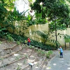 Photo taken at Parque Boyacá by Leonardo C. on 7/29/2012