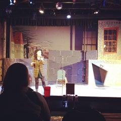 Photo taken at Pocket Sandwich Theatre by Melody L. on 2/5/2012