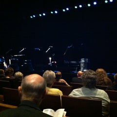 Photo taken at Bass Concert Hall by Debra E. on 3/3/2012