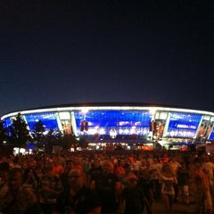 Photo taken at Donbass Arena / Донбасс Арена by Rimma on 7/29/2012