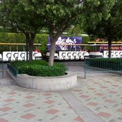 Photo taken at Mickey & Friends Tram by Allan P. on 9/11/2012