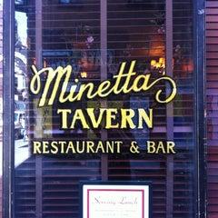 Photo taken at Minetta Tavern by Kirk M. on 4/4/2012