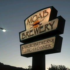 Photo taken at Moab Brewery by Thomas L. on 6/24/2012