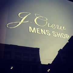 Photo taken at J.Crew Men's Shop by Barry H. on 4/14/2012